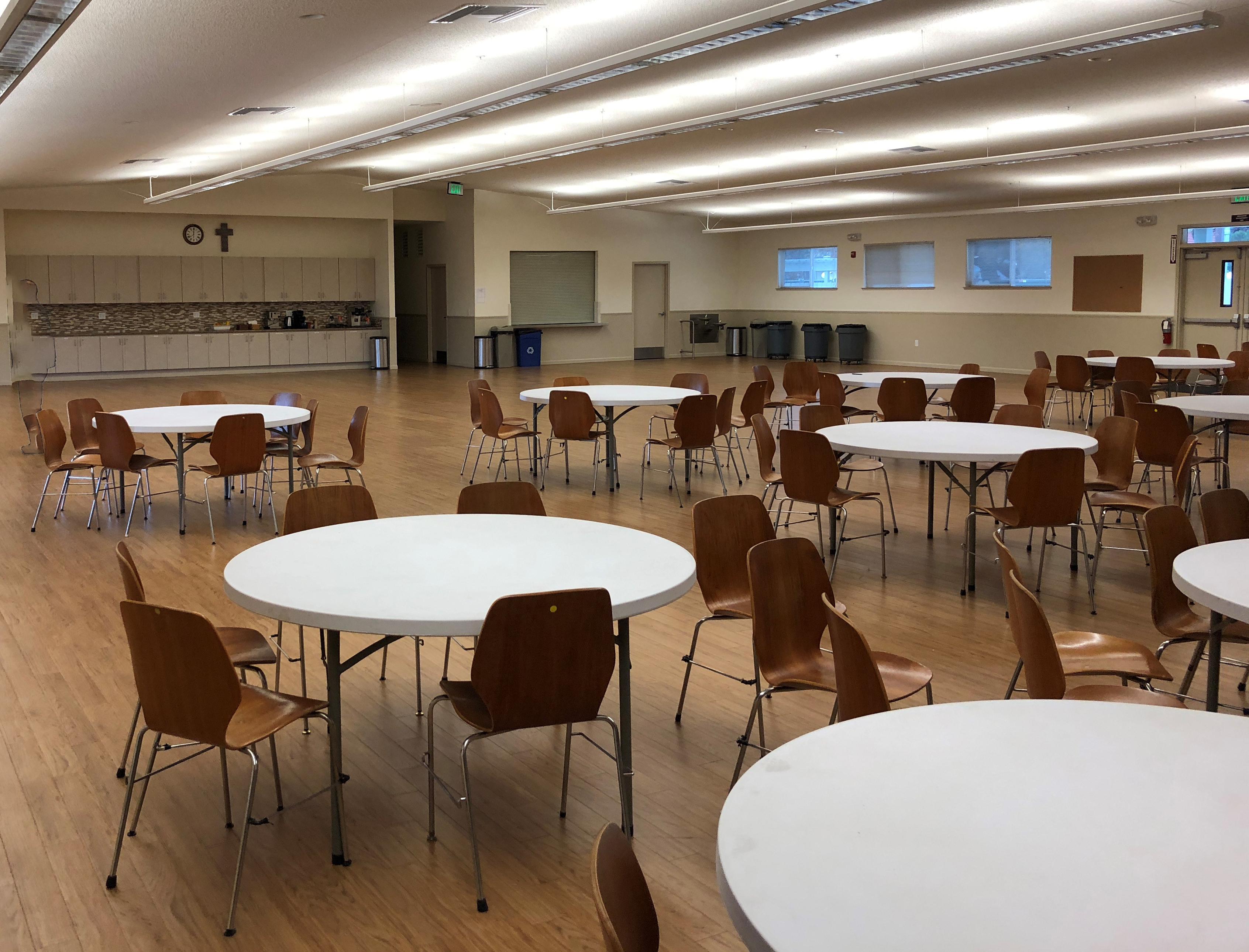 Avila Hall Rental – Located in South San Jose – Santa Teresa Parish