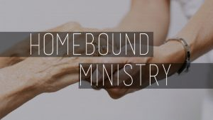 Homebound ministry at Santa Teresa Parish