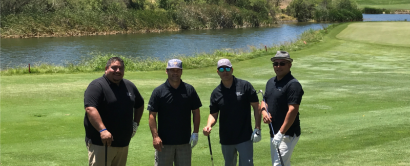 2019 golf tournament foursome