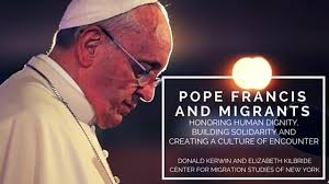 pope francis migrants by CMS