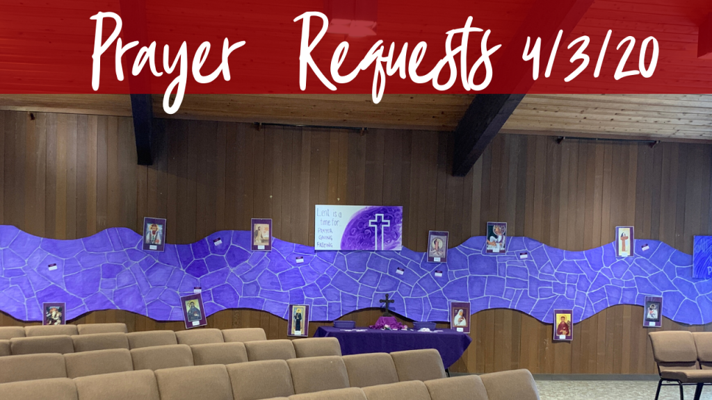 santa teresa church prayer requests 4-3