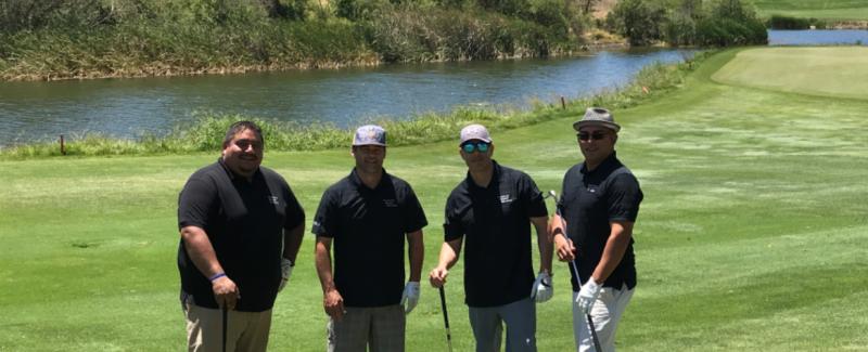 2019 golf tournament foursome