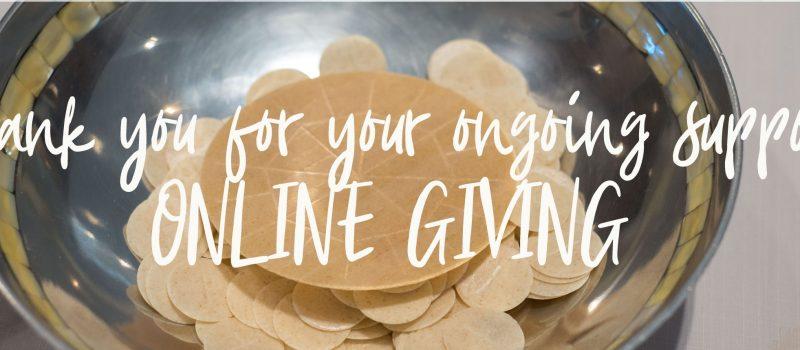 online giving support at santa teresa church